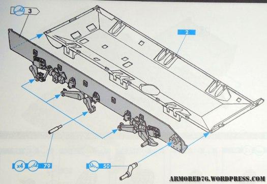 Heller 1:35 AMX 30 AU F1 instructions